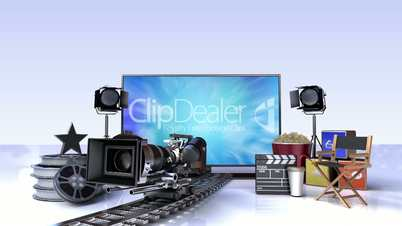 Movie, Drama, VOD contents for Smart TV, WideTV, Entertainment contents.