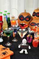 The table on Halloween