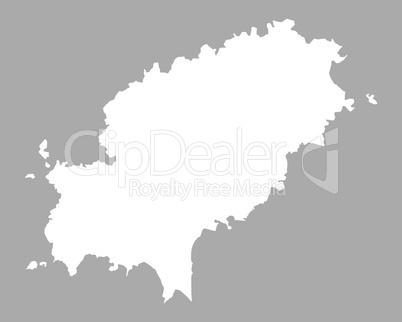 Ibiza Karte Umriss.Karte Von Ibiza Lizenzfreie Bilder Und Fotos