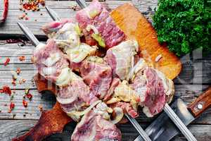 Fresh marinated meat