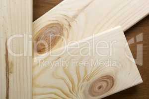 Sawn light wood boards