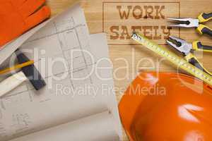 Safety equipment for construction industry
