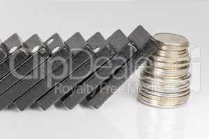 Black Domino bricks