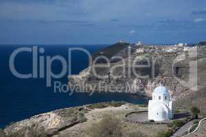 Kirche auf Santorin, Griechenland