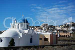 Akrotiri, Santorin, Griechenland