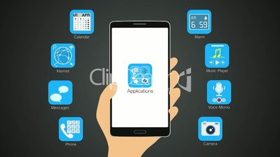 Various application function for smart phone,mobile(included Alpha)