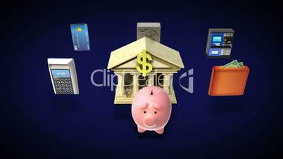 Management bank account, banking life(included alpha)