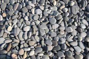 Texture pebble beach, Yalta, Crimea, Ukraine, Eastern Europe