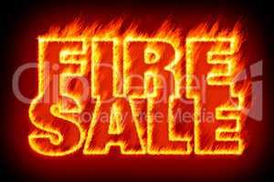 fire sale in flames
