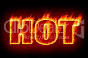 hot in flames