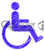 mobility accessibility sign