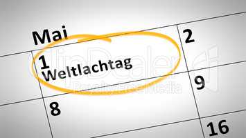 World Laughter Day first of March in german language