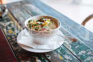 Healthy Indonesian food