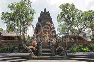Tempel Pura Taman Saraswati, Ubud, Bali, Indonesien