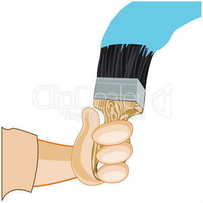 hand with tassel.eps