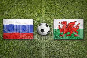 Russia vs. Wales, Group B