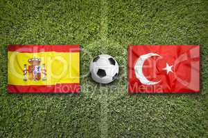 Spain vs. Turkey, Group D
