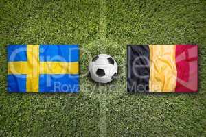 Sweden vs. Belgium, Group E
