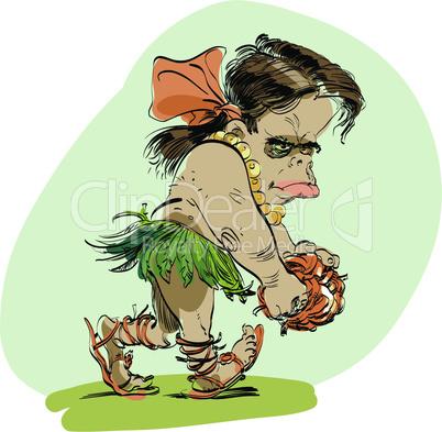Neanderthal girl evolution