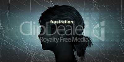 Woman Facing Frustration