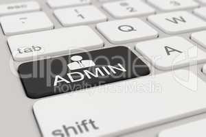 keyboard - admin - black