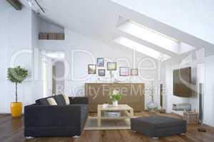 loft - living room