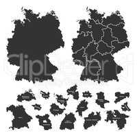 Details of german map