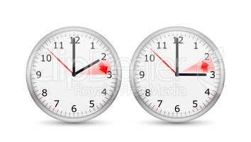 Clock Change One Hour