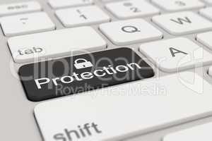 keyboard - protection - black
