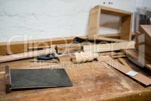 Tools and equipment used for carpentry