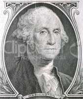 President of Washington in One dollar USA - 1935