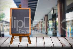 Composite image of retail stores