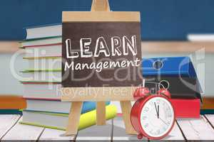 Composite image of learn management