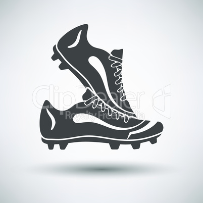 Soccer pair of boots