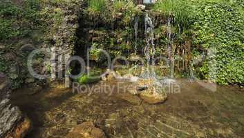 Rivulet with cascade