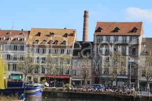 Stadtansicht von Straßburg