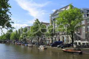 Houses in Amsterdam, Holland