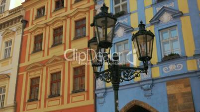 Prague Old Town Square Buildings Details