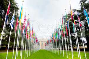 United Nations palace in Geneva