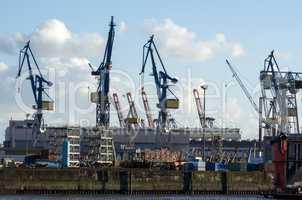 Hafen Kräne