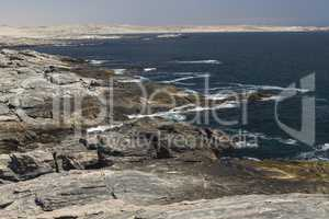 Küste am Diaz Point, Namibia, Afrika, coastline at Diaz Point,