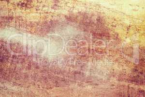 Orange colored grunge texture