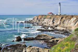 Point Arena Lighthouse, Mendocino County, California
