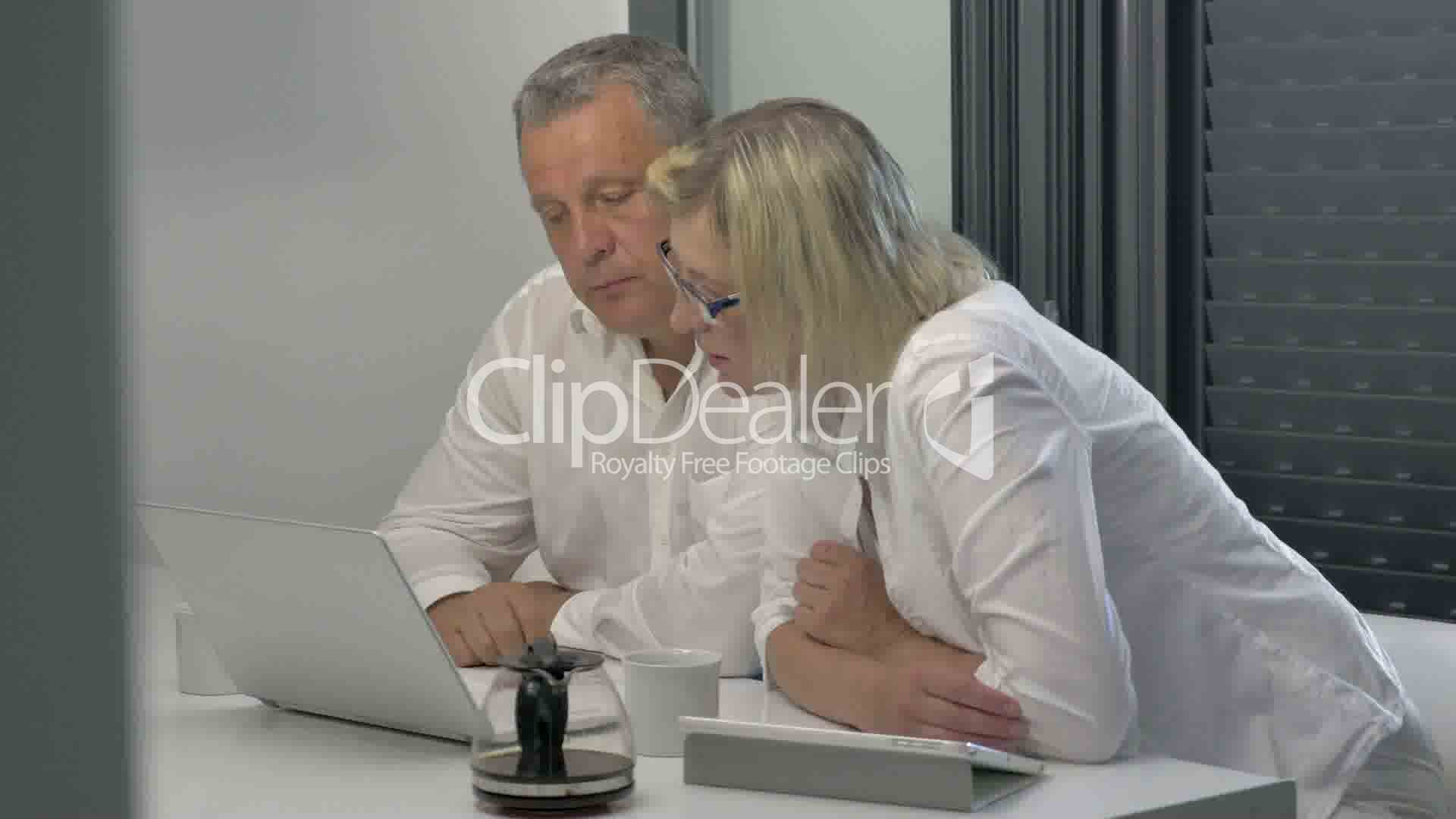 Businesspeople Coming To Agreement Royalty Free Video And Stock Footage