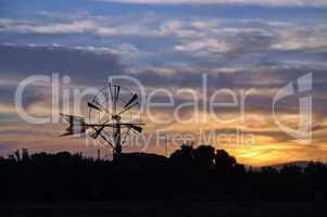 Windrad auf Mallorca