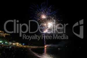 Fireworks in Noli