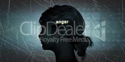 Woman Facing Anger