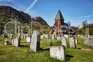 Roldal Stave Church, Norway
