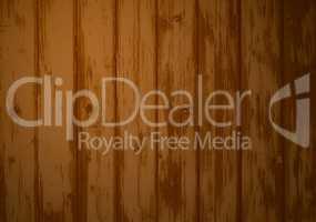 Holzwand mit brauner Farbe