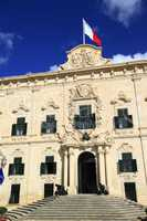 Auberge de Castille in Valletta, Malta